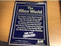 RARE COLLECTABLE VINTAGE VOLUME ONE OF THE UNEXPLAINED MAGAZINE 1984 SDHC