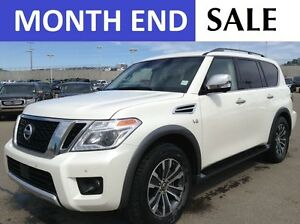 2017 Nissan Armada SL 4X4 | NAVI | HEATED LEATHER | BACK CAM
