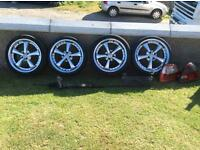 "18"" Rover 5 spoke alloys"