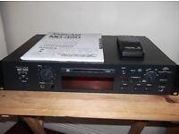 Tascam Mini Disc Player/Recorder