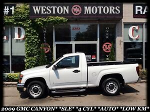 2009 GMC Canyon SLE*4 CYL*AUTO*LOW KM*