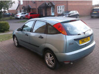 Ford Focus 1.8 turbo diesel hatchback,t reg,couple months mot,starts runs and drives great,50 mpg