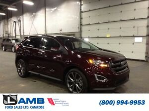 2018 Ford Edge Sport AWD with Canadian Touring Package, Adaptive