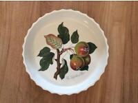 Portmeirion Pomona Flan/Quiche dish