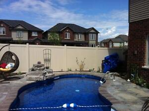 Vinyl Fencing, alternative to wood fence