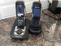 PANASONIC DIGITAL CORDLESS ANSWERING SYSTEM KX-TG8421E