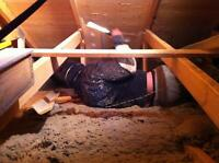 ATTIC INSULATION INSTALL & VACUUM REMOVAL