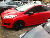 Ford Fiesta s red and black edition bargain price