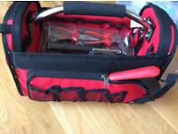 Work pro tool bag and tools brand new and sealed