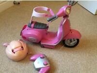 Baby Born electronic scooter