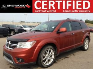 2013 Dodge Journey R/T AWD | REMOTE START | HEATED LEATHER | FOG