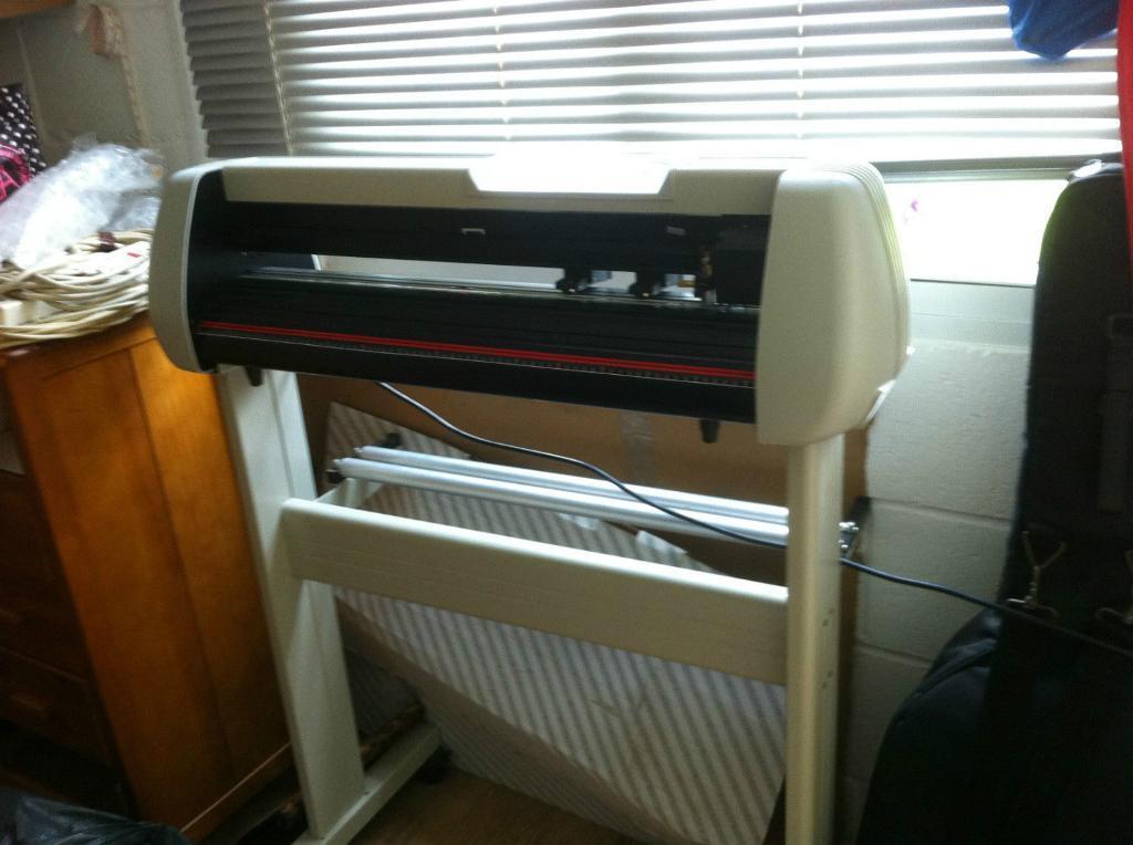 Heat Press And 28 Liyu SC631e Vinyl Cutter T Shirt Printing Business Equipment