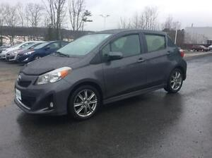 2012 Toyota Yaris SE HATCH BACK WITH AIR CONDITION AND POWER WIN