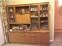 Teak Display Unit