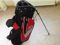 Golf carry bag 'Letters' brand new