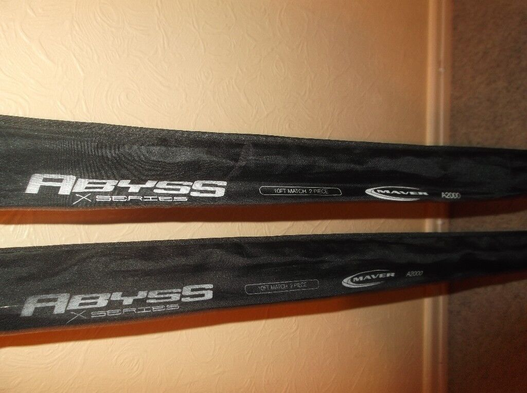 two 10ft rods
