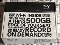 Sky+HD 500GB WIFI enabled Box.