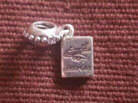 PANDORA charms - 3 charms travel bundle for sale