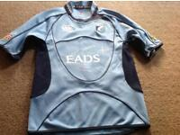 Cardiff Blues Rugby Shirt, size M