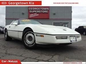 1987 Chevrolet Corvette CLEAN CARPROOF | RED LEATHER | 2 TOPS |