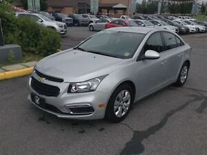 2015 Chevrolet Cruze LT REAR VISION CAMERA AND WIFI HOT SPOT!!