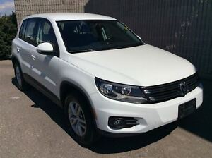 2014 Volkswagen Tiguan Trendline 4motion AWD - NICELY LOADED