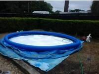 15 foot round pool 4 foot deep
