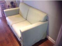Ikea Green 2 Seater Sofa