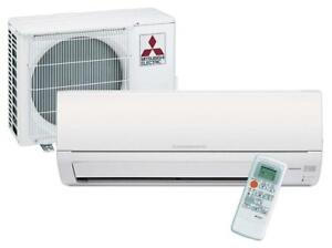 Mitsubishi Single ductless Split Air Conditioner- Cooling Only - MSY-GL09NA-U1-9,000 Btu/h