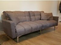 3 SEATS SOFA BED (BOUGHT 4 MONTHS AGO)