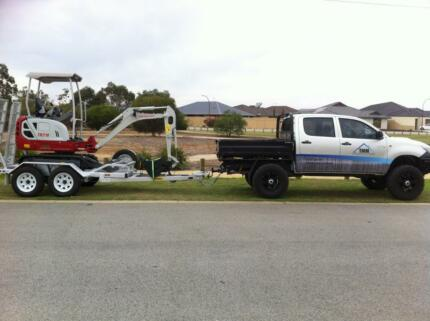 HIRE ME CHEAP - Excavator Hire Southern River Gosnells Area Preview