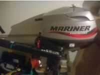 2.5 four stroke Mariner Outboard Short shaft