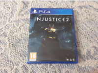 PS4 Injustice 2 in mint condition like new