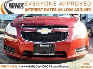 2014 Chevrolet Cruze 2LT*EVERYONE APPROVED* APPLY NOW DRIVE NOW.