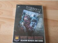 Collection Of 4 West Ham United Dvds
