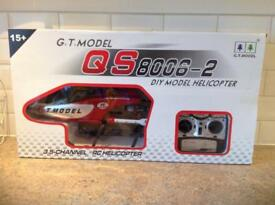 QS 8006-2 DIY model Helicopter