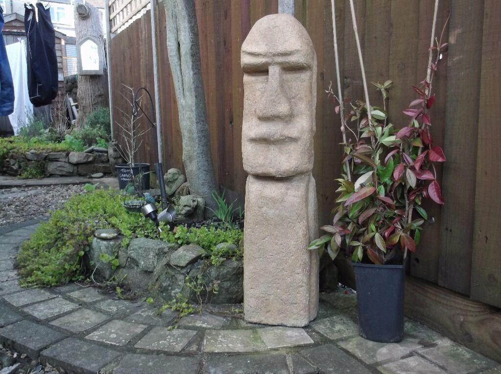 Merveilleux Garden Statue (Easter Island Head)
