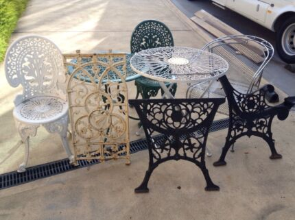 WANTED wrought iron outdoor table  Outdoor Dining Furniture
