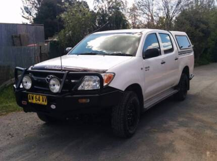 2008 Toyota Hilux 4x4 V6 MY09 Leeton Leeton Area Preview