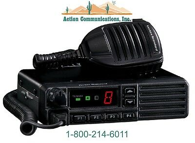 New Vertexstandard Vx-2100 Uhf 450-512 Mhz 45 Watt 8 Channel Two Way Radio