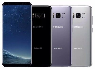Samsung Galaxy S8+ SM-G955U1 64GB Silver Black Gray (Unlocked)9/10 Light Shadows