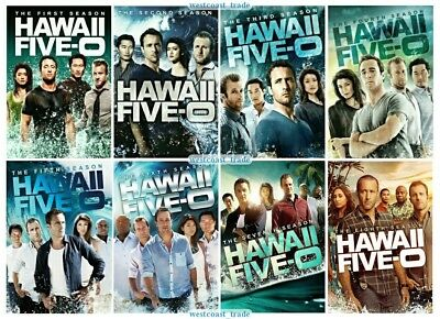Hawaii Five-O The Complete Series Seasons 1 Through 8 DVD Set Brand New 1-8