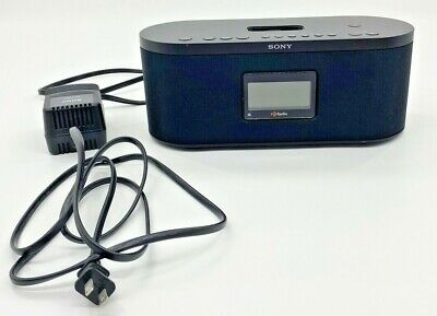 Sony FM/AM Digital Radio XDR-S10HDiP HD Alarm Clock 30 Pin iPod iPhone Dock