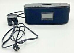 Sony FM/AM Digital Radio XDR-S10HDiP HD Alarm Clock 30 Pin iPod iPhone Dock