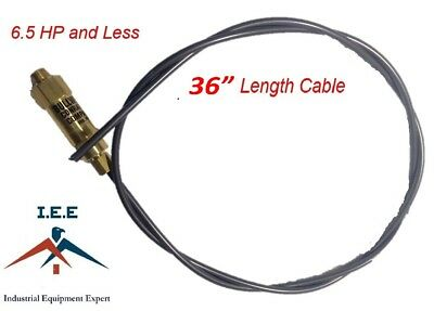 New 36 Bullwhip Throttle Control Cable For Gas Air Compressor Unloader 6.5 Hp