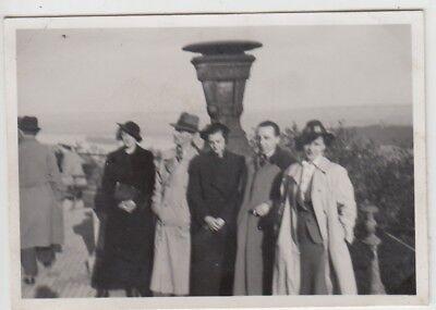 (F28759) Orig. Foto Personen am Niederwalddenkmal 1938