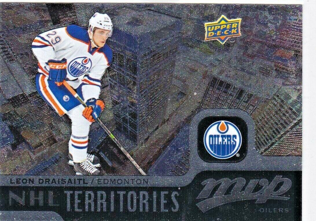 Leon Draisaitl 201516 Upper Deck MVP, NHL Territories