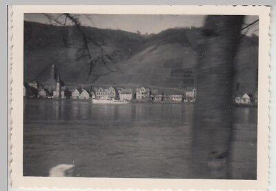 (F29050) Orig. Foto Burgen an der Mosel, Panorama 1940