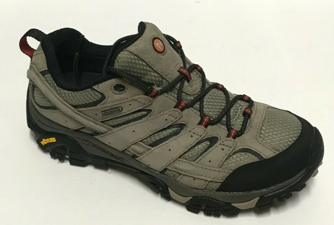 Merrell Mens Moab 2 Hiking Shoes Brown J08871 Suede Low Top