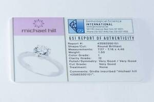 1.5ct Solitaire Engagement Ring Set in 18ct White Gold Marangaroo Wanneroo Area Preview
